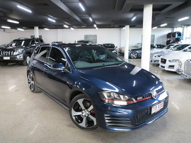 Used Volkswagen Golf 7.5 MY17 GTI DSG Albion, 2017 Volkswagen Golf 7.5 MY17 GTI DSG Blue 6 Speed Sports Automatic Dual Clutch Hatchback