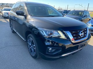 2018 Nissan Pathfinder R52 Series II MY17 Ti X-tronic 2WD Black 1 Speed Constant Variable Wagon.