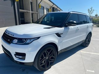 2014 Land Rover Range Rover Sport L494 MY15 SDV8 HSE Dynamic White 8 Speed Sports Automatic Wagon.