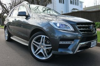 2012 Mercedes-Benz M-Class W166 ML350 BlueTEC 7G-Tronic + Grey 7 Speed Sports Automatic Wagon.