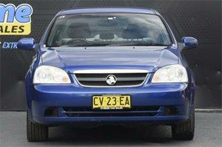 2007 Holden Viva JF MY08 Blue 4 Speed Automatic Sedan.