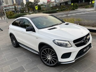2017 Mercedes-Benz GLE-Class C292 807MY GLE43 AMG Coupe 9G-Tronic 4MATIC White 9 Speed