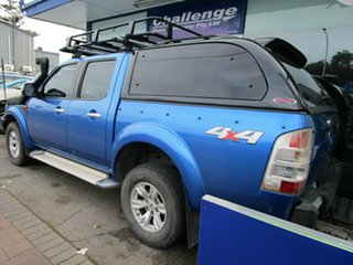 2009 Ford Ranger PJ XLT (4x4) Blue 5 Speed Automatic Dual Cab Pick-up