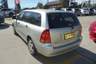2006 Toyota Corolla ZZE122R 5Y Ascent Silver 4 Speed Automatic Wagon