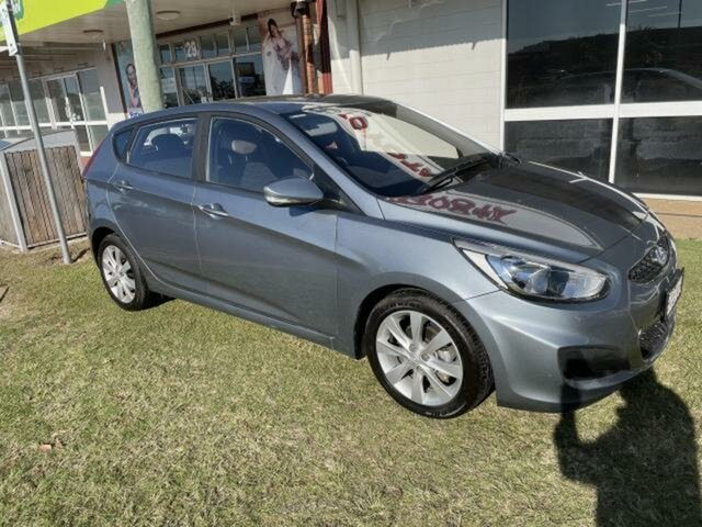 Used Hyundai Accent Emerald, 2018 Hyundai Accent Lake Silver 6 Speed Automatic Hatchback