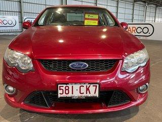 2010 Ford Falcon FG XR6 Red 6 Speed Sports Automatic Sedan.