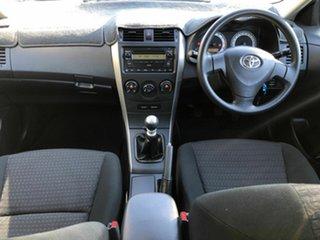 2008 Toyota Corolla ZRE152R Ascent Blue 6 Speed Manual Sedan