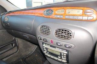 2000 Ford Fairlane AU Ghia Silver 4 Speed Automatic Sedan