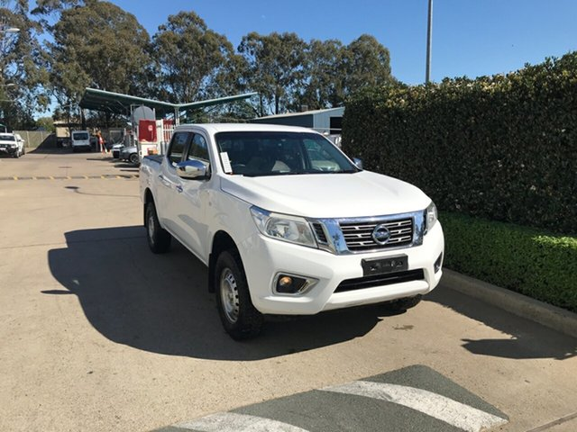 Used Nissan Navara D23 S2 RX Acacia Ridge, 2017 Nissan Navara D23 S2 RX White 7 speed Automatic Utility