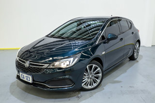 2017 Holden Astra BK MY17 RS-V Green 6 Speed Sports Automatic Hatchback.