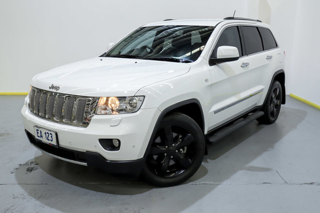 Used Jeep Grand Cherokee WK MY2013 Limited Canning Vale, 2013 Jeep Grand Cherokee WK MY2013 Limited White 5 Speed Sports Automatic Wagon