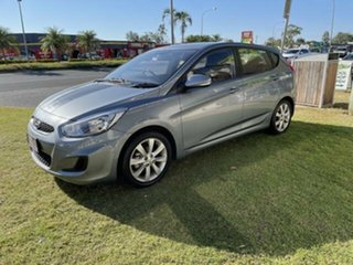 2018 Hyundai Accent Lake Silver 6 Speed Automatic Hatchback