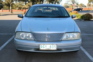 2000 Ford Fairlane AU Ghia Silver 4 Speed Automatic Sedan.