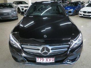 2017 Mercedes-Benz C-Class W205 807+057MY C350 e 7G-Tronic + Black 7 Speed Sports Automatic Sedan.