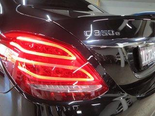 2017 Mercedes-Benz C-Class W205 807+057MY C350 e 7G-Tronic + Black 7 Speed Sports Automatic Sedan