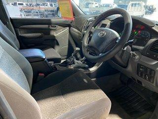 2006 Toyota Landcruiser Prado GRJ120R GXL Black 5 Speed Automatic Wagon