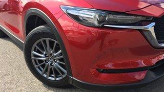 2018 Mazda CX-5 KF4WLA Touring SKYACTIV-Drive i-ACTIV AWD Red 6 Speed Sports Automatic Wagon.