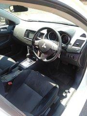 2017 Mitsubishi Lancer CF MY17 ES Sport White 6 Speed CVT Auto Sequential Sedan.