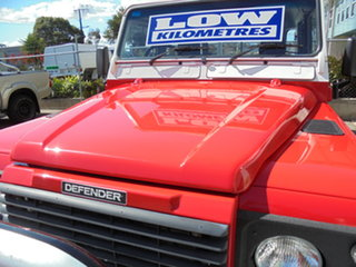 2006 Land Rover Defender 130 03MY Standard White 5 Speed Manual Utility