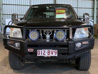 2006 Toyota Landcruiser Prado KDJ120R GXL Black 5 Speed Automatic Wagon.