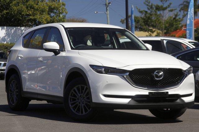 Used Mazda CX-5 KF4WLA Touring SKYACTIV-Drive i-ACTIV AWD Mount Gravatt, 2018 Mazda CX-5 KF4WLA Touring SKYACTIV-Drive i-ACTIV AWD White 6 Speed Sports Automatic Wagon