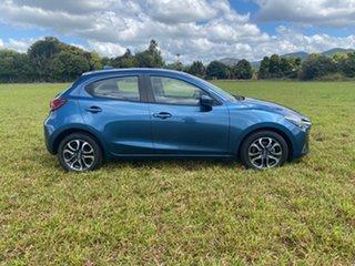 2019 Mazda 2 DJ Genki (5Yr) Blue 6 Speed Manual Hatchback.