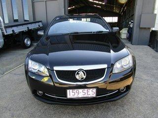 2012 Holden Calais VE II MY12 Black 6 Speed Sports Automatic Sedan