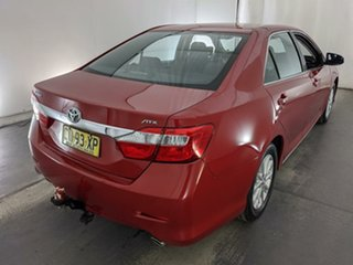 2012 Toyota Aurion GSV50R AT-X Red 6 Speed Sports Automatic Sedan