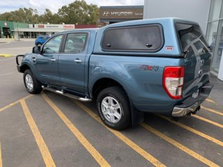 2014 Ford Ranger PX XLT Double Cab Blue 6 Speed Sports Automatic Utility.