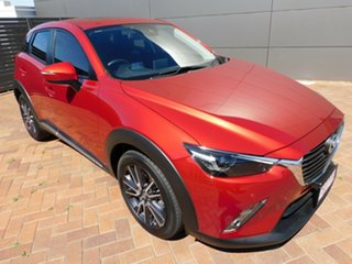 2018 Mazda CX-3 DK2W7A Akari SKYACTIV-Drive Red 6 Speed Sports Automatic Wagon.