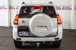 2017 Toyota Landcruiser Prado GDJ150R MY17 GXL (4x4) Crystal Pearl 6 Speed Automatic Wagon
