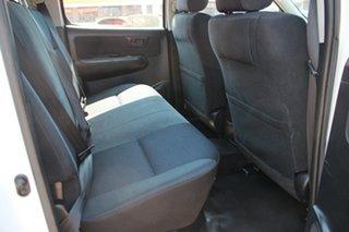 2013 Toyota Hilux KUN26R MY12 SR Double Cab Glacier White 5 Speed Manual Dual Cab