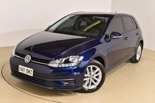 2018 Volkswagen Golf 7.5 MY18 110TSI Blue 6 Speed Manual Hatchback.