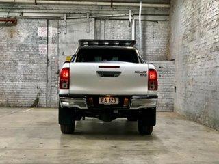 2017 Toyota Hilux GUN136R SR5 Double Cab 4x2 Hi-Rider White 6 Speed Sports Automatic Utility