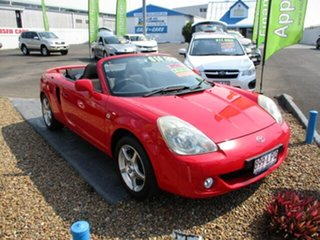 2002 Toyota MR2 Spyder Convertible Red 4 Speed Automatic Roadster.