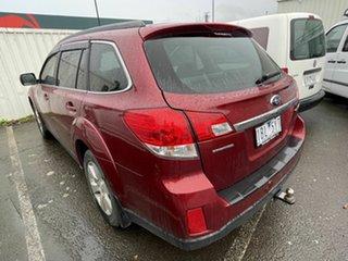 2010 Subaru Outback MY10 2.5i AWD Maroon Continuous Variable Wagon.