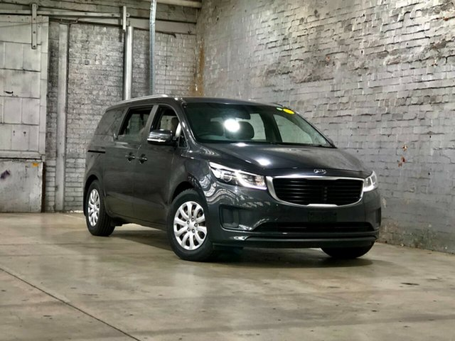 Used Kia Carnival YP MY16 S Mile End South, 2016 Kia Carnival YP MY16 S Grey 6 Speed Sports Automatic Wagon