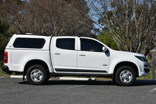 2017 Holden Colorado RG MY18 LS Pickup Crew Cab 4x2 White 6 Speed Sports Automatic Utility