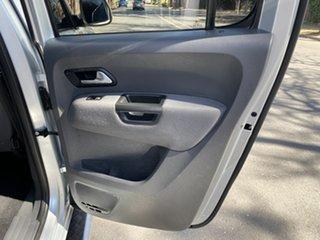 2014 Volkswagen Amarok 2H MY14 TDI420 4Motion Perm Trendline Silver 8 Speed Automatic Utility