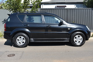 2008 Ssangyong Rexton Y220 II MY08 RX270 Black 5 Speed Sports Automatic Wagon