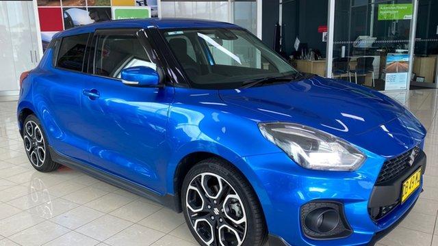 Used Suzuki Swift AZ Sport Cardiff, 2018 Suzuki Swift AZ Sport Blue 6 Speed Sports Automatic Hatchback