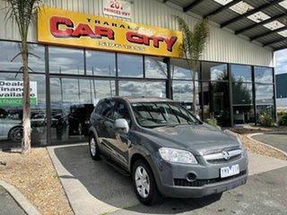 2010 Holden Captiva CG MY10 SX (FWD) Grey 5 Speed Automatic Wagon.
