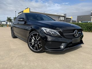 2017 Mercedes-Benz C-Class W205 808MY C43 AMG 9G-Tronic 4MATIC Black 9 Speed Sports Automatic Sedan.