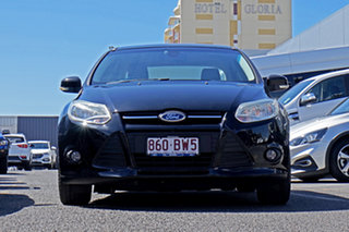 2014 Ford Focus LW MkII Trend PwrShift Black 6 Speed Sports Automatic Dual Clutch Sedan.