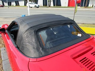 2002 Toyota MR2 Spyder Convertible Red 4 Speed Automatic Roadster