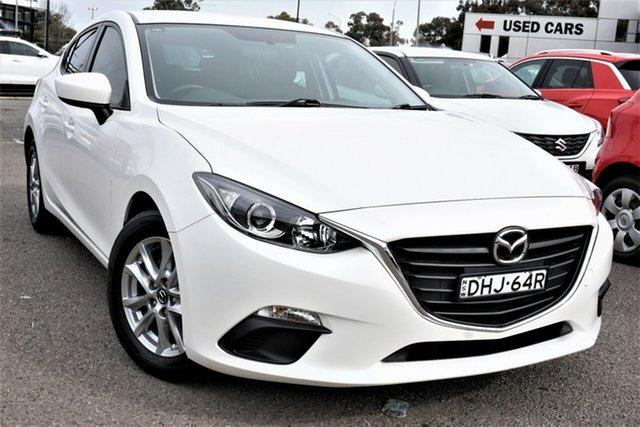 Used Mazda 3 BM5478 Neo SKYACTIV-Drive Phillip, 2016 Mazda 3 BM5478 Neo SKYACTIV-Drive White 6 Speed Sports Automatic Hatchback