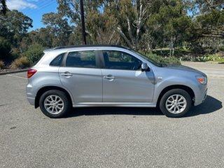2011 Mitsubishi ASX XA MY12 2WD Silver 6 Speed Constant Variable Wagon.