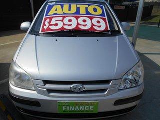 2005 Hyundai Getz TB MY05 GL Silver 4 Speed Automatic Hatchback.