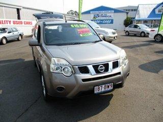2010 Nissan X-Trail ST Grey 4 Speed Automatic Wagon.