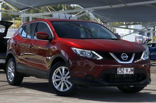 2014 Nissan Qashqai J11 ST Magnetic Red 1 Speed Constant Variable Wagon.